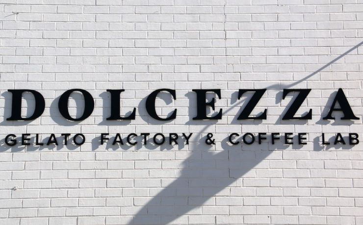 Dolcezza gelato factory and coffee shop in the NoMa neighborhood