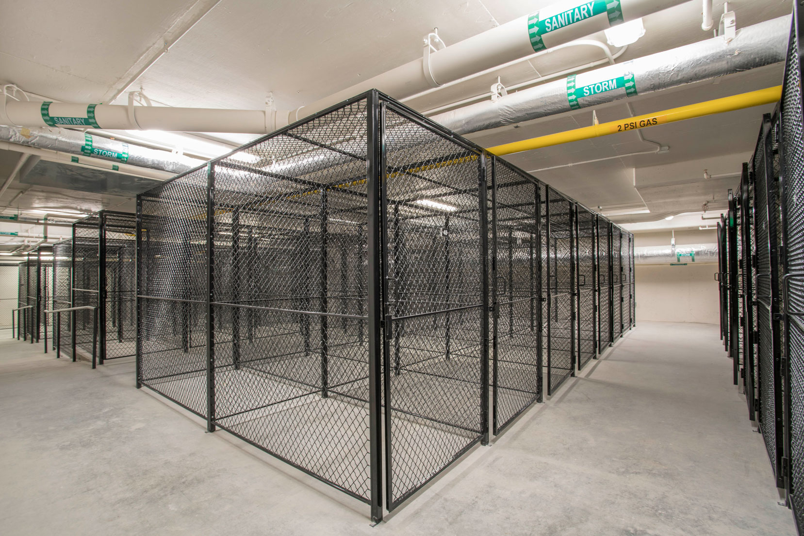 Extra unit storage space of residence of The Belgard NoMa