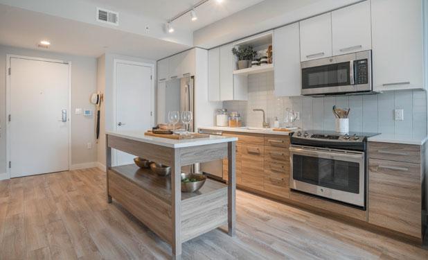 Modern kitchen at The Belgard Noma