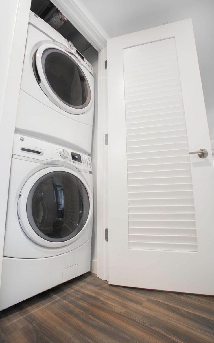 Washer dryer in luxury units in noma washington dc