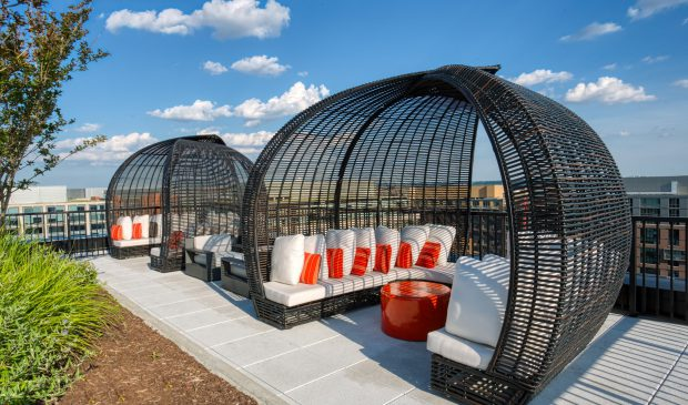 Private Cabanas at the Belgard NoMa