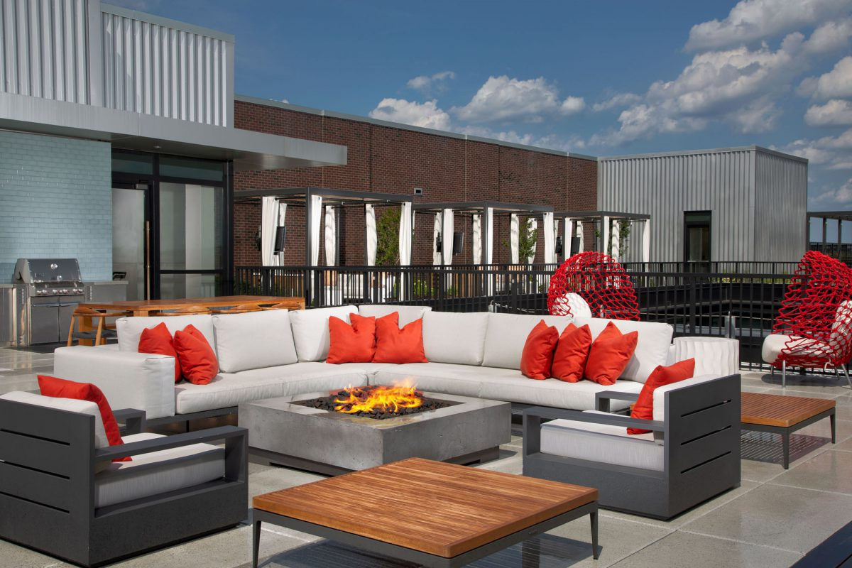Rooftop Deck at the Belgard NoMa